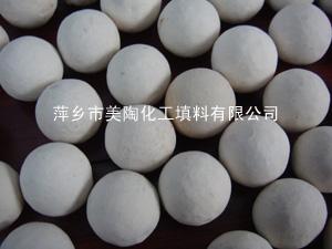 惰性氧化铝瓷球 17%